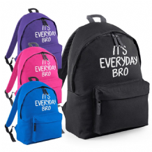 It's Everyday Bro Backpack - Every Day Jake Paul Bag Youtube Team Ten Rucksack